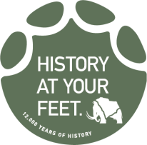 mammoth footprint sticker